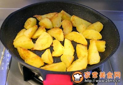 烧烤风味土豆角的做法图解6