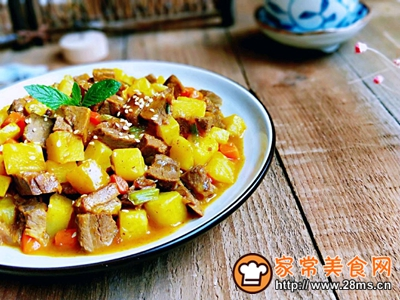 咖喱烩牛肉~贴秋膘的做法图解13