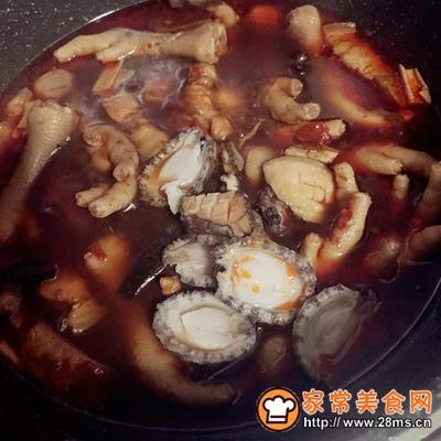 超下饭的鲍鱼红烧肉的做法图解10