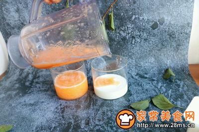 双色大理石纹蜜瓜酸奶的做法图解6
