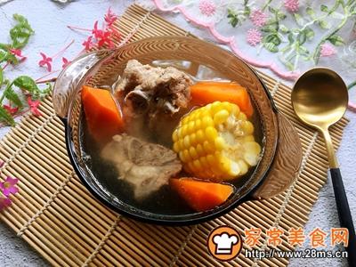 玉米胡萝卜骨头汤的做法图解8
