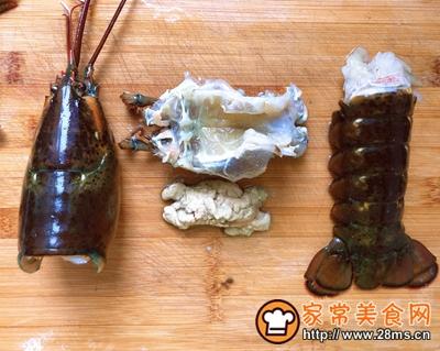 宴客菜蒜蓉粉丝蒸鳌虾的做法图解4