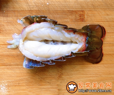 宴客菜蒜蓉粉丝蒸鳌虾的做法图解5
