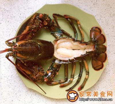 宴客菜蒜蓉粉丝蒸鳌虾的做法图解7