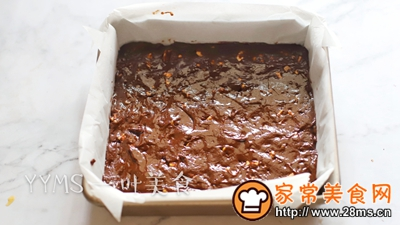 布朗尼蛋糕的做法图解8