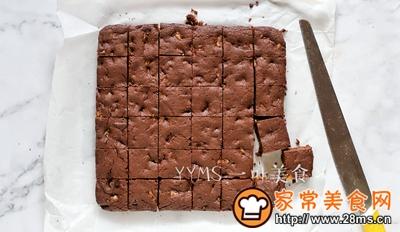 布朗尼蛋糕的做法图解9
