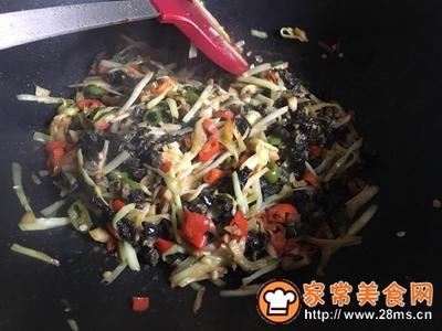韭黄紫苏炒螺肉的做法图解12