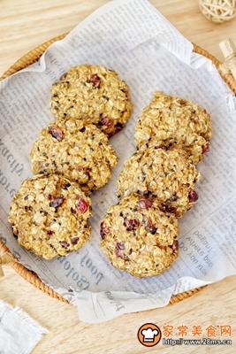 红糖燕麦饼干的做法图解12