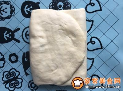 黑芝麻可颂面包的做法图解9