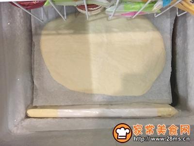 黑芝麻可颂面包的做法图解10