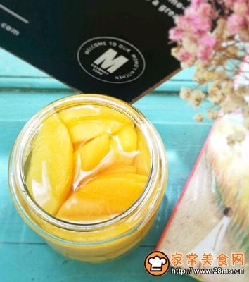 美味黄桃罐头的做法图解7