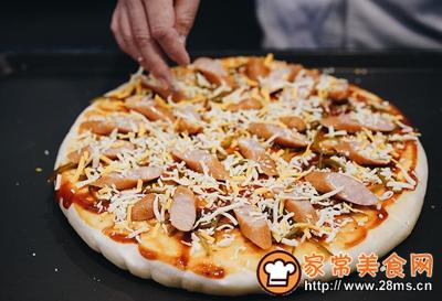 披萨的做法图解10