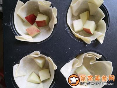 饺皮版雪桃蛋挞的做法图解7