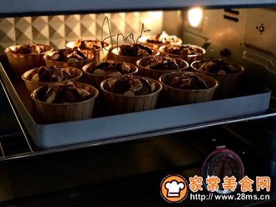 核桃榛子巧克力麦芬蛋糕的做法图解9