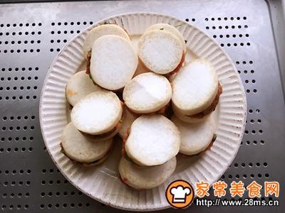 蚝油杏鲍菇肉夹的做法图解6
