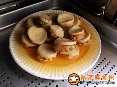 蚝油杏鲍菇肉夹的做法图解8
