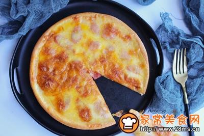 薄底香肠披萨的做法图解15