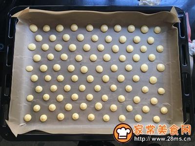 蛋黄小饼干的做法图解8