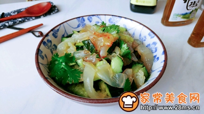 中华风水母沙拉的做法图解7