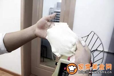 无油无糖低脂肪酸奶包的做法图解2