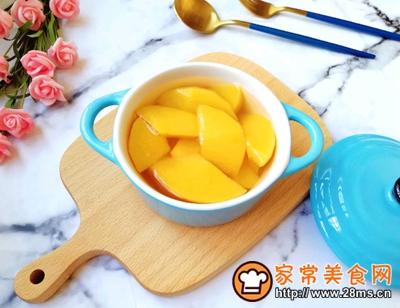黄桃罐头的做法图解9