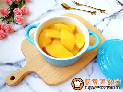 黄桃罐头的做法图解10