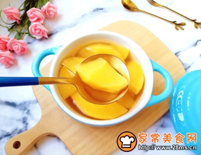 黄桃罐头的做法图解12