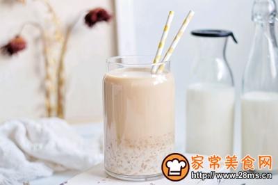 无糖低脂阿萨姆燕麦奶茶长不胖的做法图解8