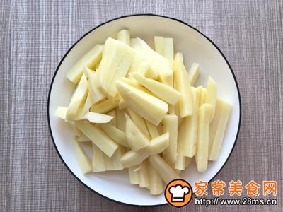 蛋黄焗薯条的做法图解1
