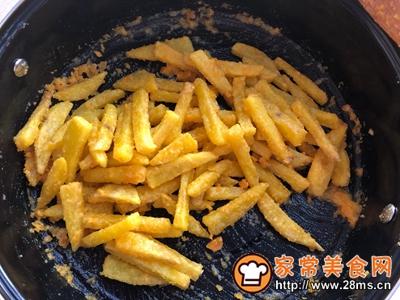 蛋黄焗薯条的做法图解9