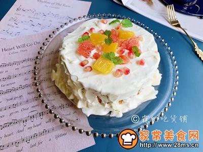 水果雪崩蛋糕的做法图解18