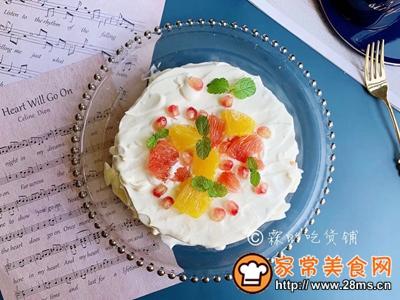 水果雪崩蛋糕的做法图解20