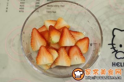 草莓奶油切片蛋糕的做法图解11