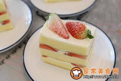 草莓奶油切片蛋糕的做法图解19