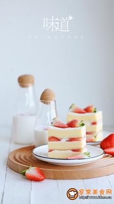草莓奶油切片蛋糕的做法图解20