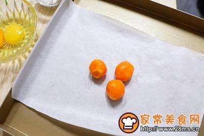 网红霸主~咸蛋黄肉松麻薯的做法图解3