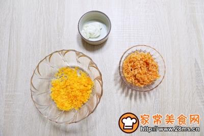 网红霸主~咸蛋黄肉松麻薯的做法图解7
