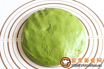 抹茶蜜豆小吐司的做法图解6