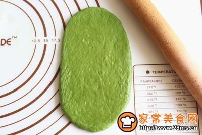 抹茶蜜豆小吐司的做法图解8