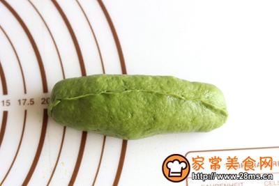 抹茶蜜豆小吐司的做法图解11