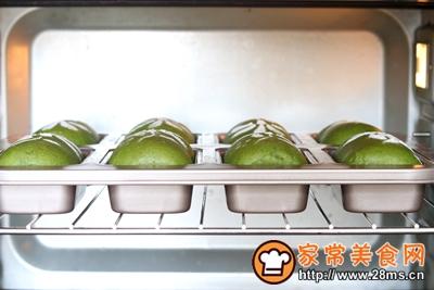 抹茶蜜豆小吐司的做法图解15