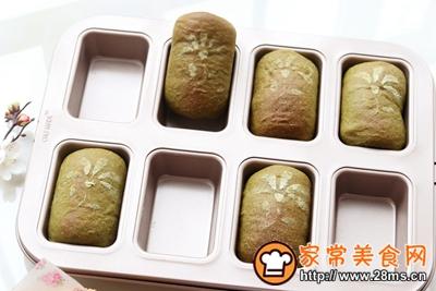 抹茶蜜豆小吐司的做法图解16