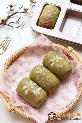 抹茶蜜豆小吐司的做法图解18
