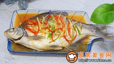 清蒸鳊鱼的做法图解7