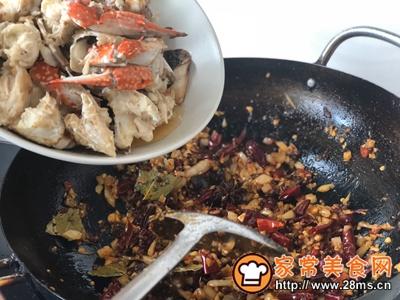 秋凉菊黄香辣蟹的做法图解11