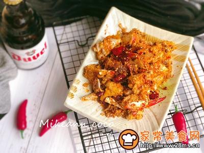 秋凉菊黄香辣蟹的做法图解15