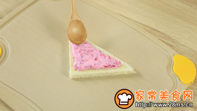 酸奶西多士的做法图解5