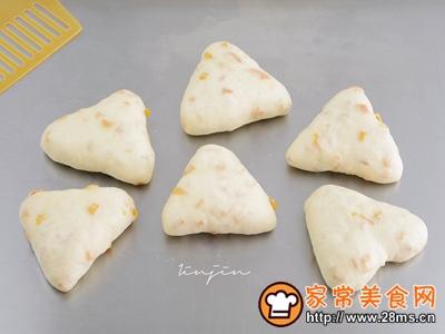 芒果酸奶面包的做法图解9