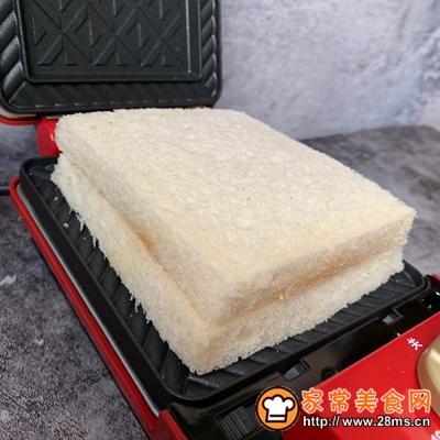 火龙果酸奶三明治的做法图解4