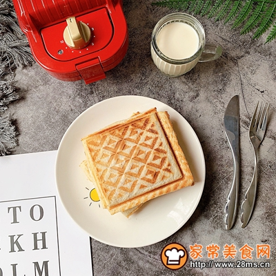 火龙果酸奶三明治的做法图解7